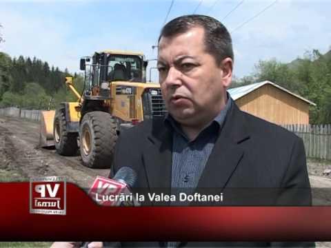 Lucrări la Valea Doftanei