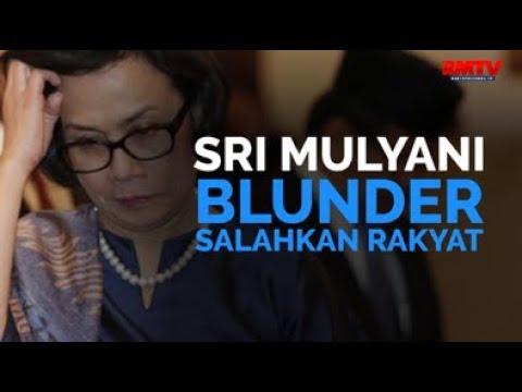 Sri Mulyani Blunder Salahkan Rakyat!