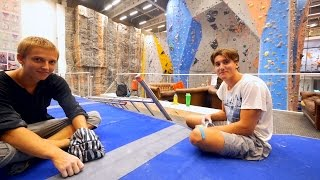 We Got Help From David And Fabian by Eric Karlsson Bouldering