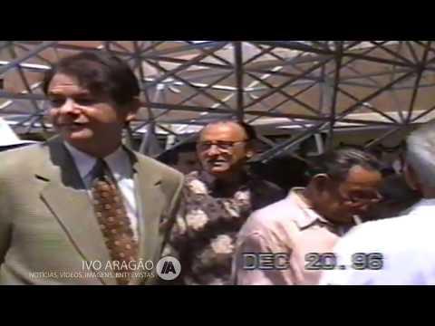 Sobral - CE - 1996 - Inauguração do Hospital do Coração, em Sobral