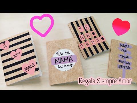 Tarjetas de amor - 4 tarjetas para sorprender a MAMÁ