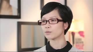 Bobbi Brown化妝教室 廣告: 戴眼鏡化妝術