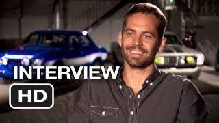 Fast&Furious 6 Interview - Paul Walker (2013) - Vin Diesel Movie HD