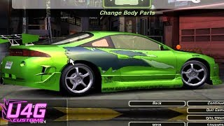 Nonton Need for Speed underground 2 Fast and Furious Mitsubishi eclipse By RASTAKITTEN Film Subtitle Indonesia Streaming Movie Download
