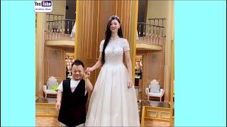 Video Funny Video With Very Tall Girl MP3, 3GP, MP4, WEBM, AVI, FLV September 2019