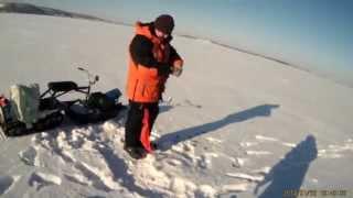Зимняя рыбалка  Озеро Кандры Куль  Ловля на блесну