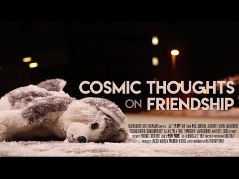 Quotes on friendship - Cosmic Thoughts on Friendship Teaser