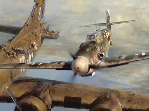 B17 - This film was taken when Bf-109 ace Franz Stigler met B-17 pilot Charlie Brown for the first time since their encounter during WWII! The complete story of Fr...