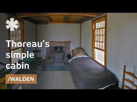 Thoreau's simple life at Walden