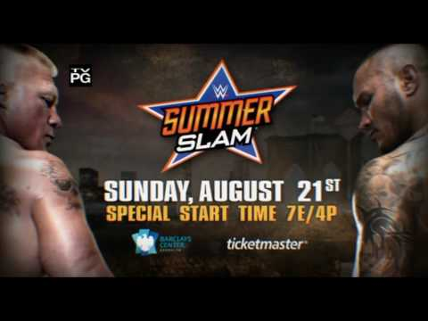 Brock Lesnar VS  Randy Orton -  SummerSlam 2016 Official Promo