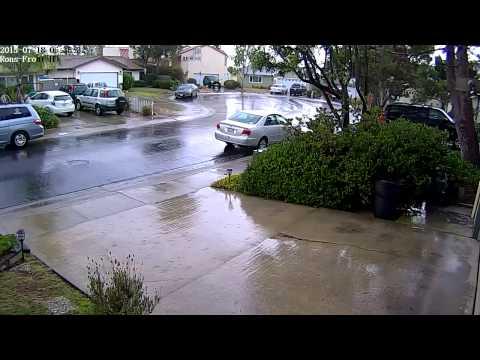 San Diego Summer Thunderstorm - very rare