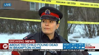 Nonton Police Update Investigation After Abducted 11 Year Old Girl Found Dead In Brampton Film Subtitle Indonesia Streaming Movie Download