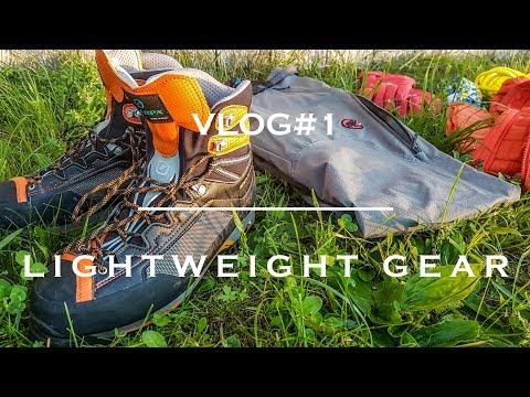 Lightweight  Mountaineering Gear |  Fast&Light  | Dyneema Rope, Scarpa Rebell, Petzl Irvis
