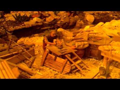 Preview video Presepe Artistico di Cigoli, Natale 2010