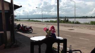 Bueng Kan Thailand  city photo : Bueng Kan,Mekong River,2010,Thailand,HD