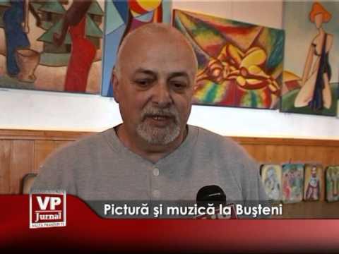 Pictură şi muzică la Buşteni