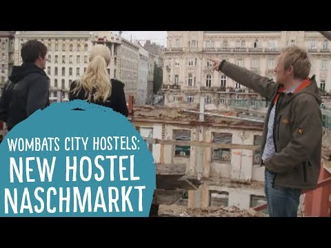 Video Wombats City Hostel Vienna - at the Naschmarktsta