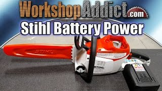 4. Stihl MSA 200 C Battery Operated Chainsaw Review
