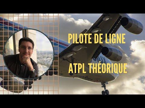 Le Brevet théorique de PILOTE DE LIGNE (ATPL THÉORIQUE)