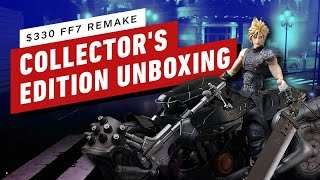 Unboxing Final Fantasy 7 Remake: Collectors Edition by IGN