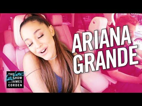Video Ariana Grande Carpool Karaoke download in MP3, 3GP, MP4, WEBM, AVI, FLV January 2017