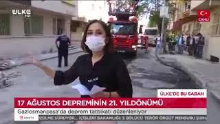 Gaziosmanpaşa'da Deprem Tatbikatı (Canlı Yayın) - Ülke Tv