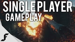 BATTLEFIELD 1 SINGLE PLAYER GAMEPLAY - 12 Minutes