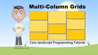 Core JavaScript Multi Column Layout Grid Programming Tutorial