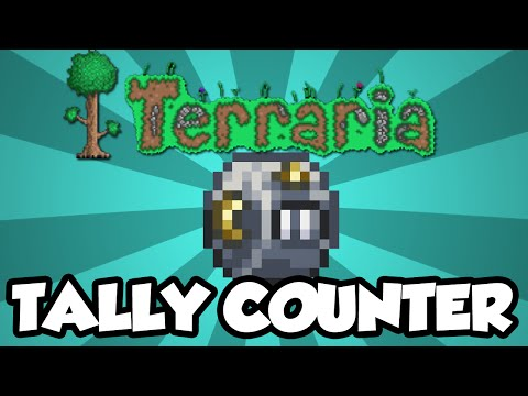 NEW Terraria 1.3 Items - The 'Tally Counter' - Counts Your Kills Accessory! [1.3]