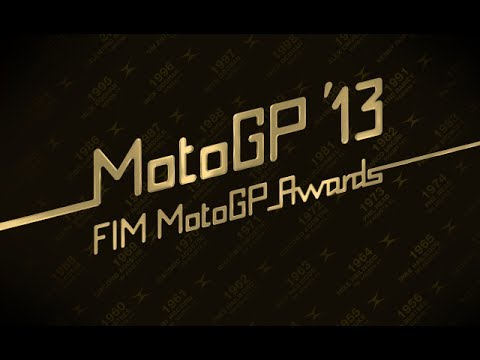 motogp - Following the final round of the 2013 MotoGP™ World Championship held on Sunday afternoon at the Ricardo Tormo Circuit near Valencia, the FIM MotoGP™ Awards Ceremony mark the official end...