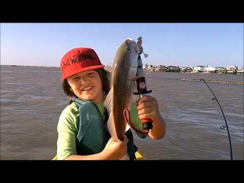 Kayak Fishing for Keeper Tailing Redfish