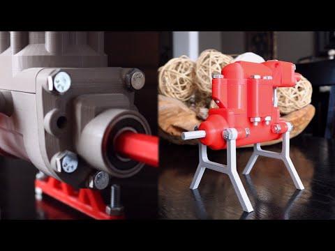 3D Printed Air engine TESTING all models