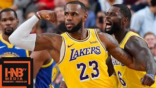 Nonton Los Angeles Lakers Vs Golden State Warriors Full Game Highlights   10 10 2018  Nba Preseason Film Subtitle Indonesia Streaming Movie Download