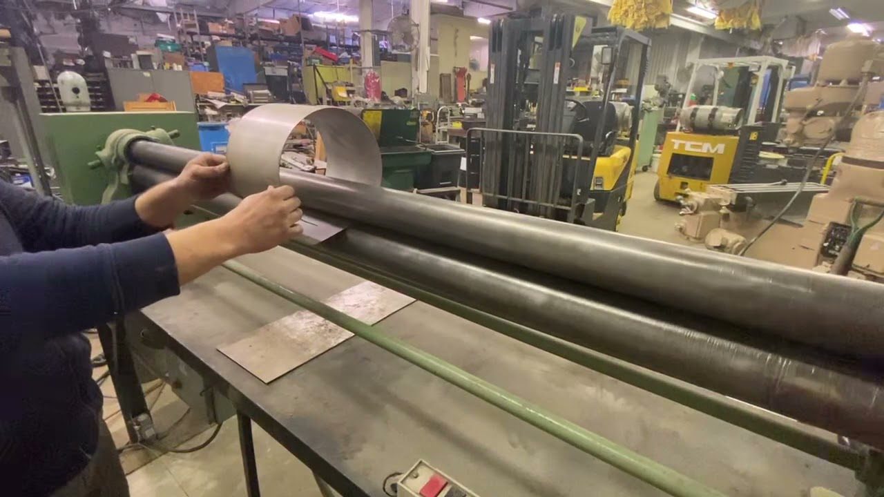(1) PREOWNED HENDLEY & WHITTEMORE 6 ft INITIAL PINCH PLATE <br>BENDING ROLL, 20 GA.