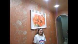 Глянцевый потолок 9 м<sup>2</sup>