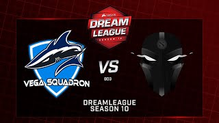 Vega Squadron vs  The Final Tribe, DreamLeague Minor, bo3, game 1 [Mila & Adekvat]