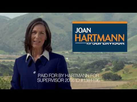 Joan Hartmann for Supervisor 1