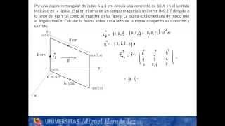 Umh1148 2013-14 Lec006c Problema Fuerza Magnética 1