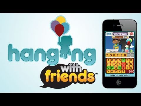 AppJudgment - Miss AppJudgment? Check out Tech Feed for more app news & reviews: http://vid.io/xoz Hanging With Friends for iOS brings a brand new twist to the classic gam...