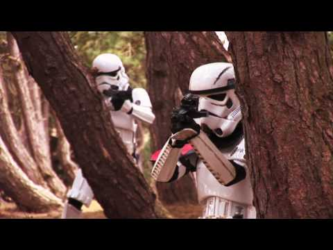 STAR WARS FAN FILM -THE SECRET IN THE SAND-PART 2 OF 2