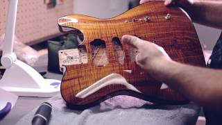 Video Warmoth Fender Telecaster Custom Koa Guitar Build - Taylor Swift / Grant Mickelson MP3, 3GP, MP4, WEBM, AVI, FLV Juni 2018