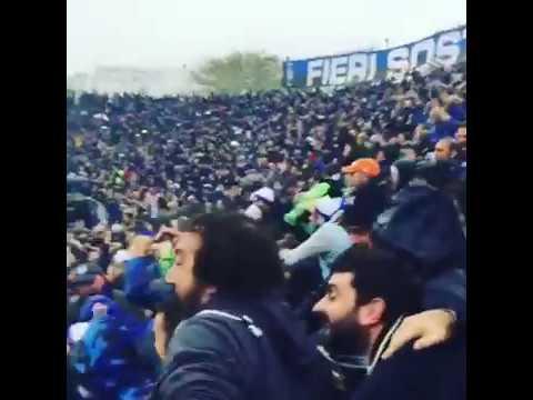 ATALANTA - Inter 2-1 goal più esultanza PINILLA 23.10.2016