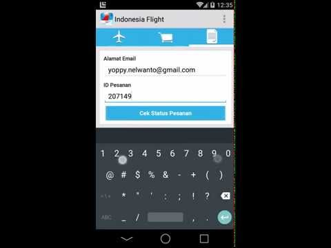 Video of Indonesia Flight