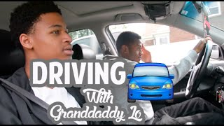 To Practice My Driving Skills Before Taking My Road Test I Decided To Take A Test Drive With Granddaddy Lo......... :) Be Happy...