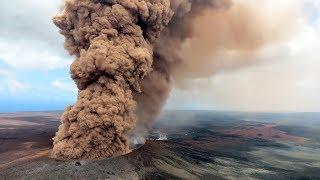 Video Ready to Explode? Hawaii's Volcano Spews Colossal Rock & Lava MP3, 3GP, MP4, WEBM, AVI, FLV Mei 2018