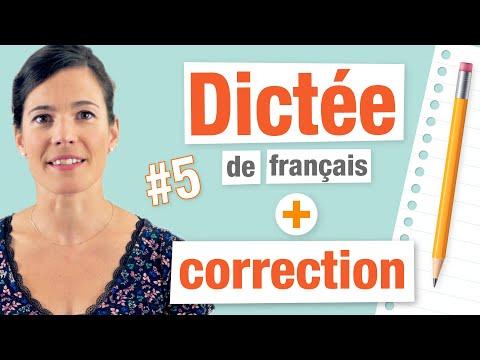 Dictée avec Correction et Explications - Améliorez votre écrit !