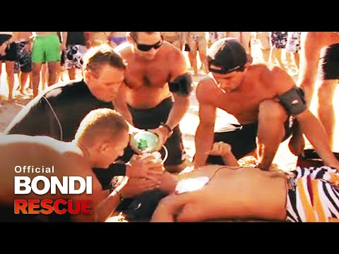 Bondi Lifeguards Resuscitate Korean Tourist Ryan Kim (Dead for 5 minutes!)