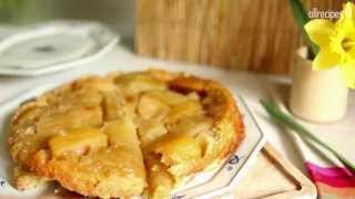 Tarta z jabłkami - przepis na tartę tatin