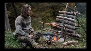 Video 6 DAYS SOLO BUSHCRAFT - CANVAS LAVVU, BOW DRILL, SPOON CARVING, FINNISH AXE etc. MP3, 3GP, MP4, WEBM, AVI, FLV Februari 2019