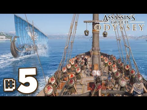 YOU ARE A PIRATE!!! - Assassin's Creed Odyssey | Part 5 || FULL PLAYTHROUGH (PS4) HD